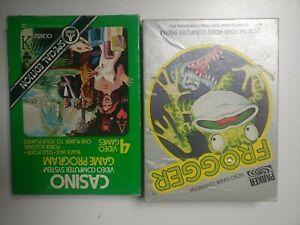 Frogger Casino Atari Games Bundle. Boxed Complete.