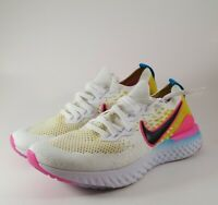 Nike Epic React Flyknit 2 Shoes Men's Size 8.5 womens 10.5 CI7583 100
