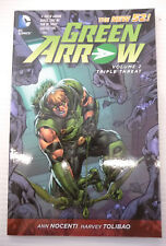 green arrow vol 2 triple threat ann nocenti & harvey tolibao tpb dc comics