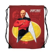 Star Trek Captain Picard Cinch Bag