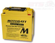 Bateria Motobatt batería mb16u 4 pines batería 4-puertos Honda Suzuki VS vf vx f2 F