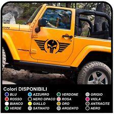 Adesivi portiera TESCHIO Alato cm 80x30 Jeep WRANGLER RENEGADE WILLYS offroad