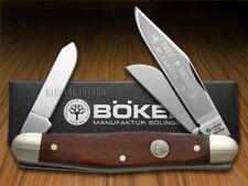 BOKER TREE BRAND Smooth Cocobola Wood Stockman Carbon Steel Pocket Knives Knife