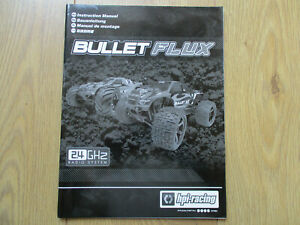 HPI BULLET ST/MT FLUX  INSTRUCTION MANUAL HPI 101982