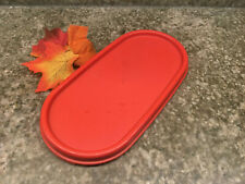 Tupperware Modular Mate Oval Lid Replacement 1616 Persimmon Red