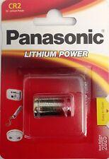 Panasonic CR-2 1/2A Photo Lithium 3V Battery 1 Pk CR2 CR-2PA/1B In Retail PKNG