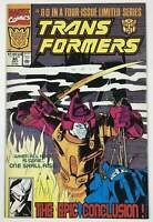 Transformers #80 (Marvel 1991) Direct Edition Final Issue