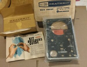 NOS HEATHKIT unbuilt SIGNAL TRACER Model IT-12 NIB Open Box WOW! RARE 1971
