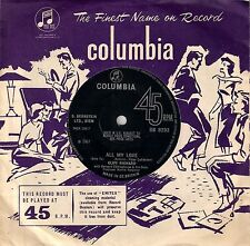 CLIFF RICHARD<>ALL MY LOVE<>Single/1967<>COLUMBIA ~
