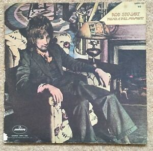 ROD STEWART Never A Dull Moment LP Mercury 6499 153 UK 1972  1Y// 1 2Y//1