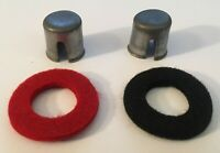 + and - Military Style Battery Terminal Top Post Kit With Washers