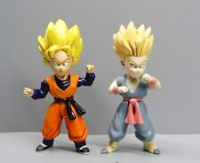 lot of 2 jakks toys DragonBall Z DBZ action figure : SS KID TRUNKS GOTEN