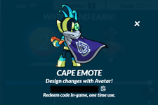 Brawlhalla Cape Taunt Code, 400+ Reviews, DELIVERY IN MINUTES!!!