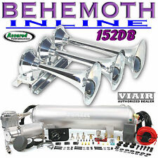 BEHEMOTH-i 152db TRAIN AIR HORN KIT 152db VIAIR 275c 2.5 Gal. 150psi Loudest NIB