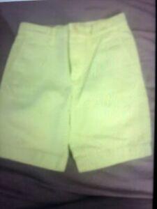 Crewcuts Shorts Stanton Lime Boys 6 Nwt $39.50