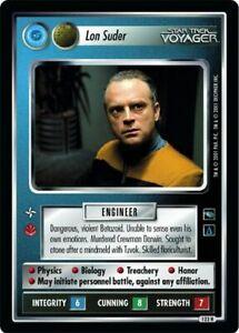 Star Trek CCG VOY Voyager Lon Suder (Federation) 123R