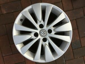 "CITROEN C4 PICASSO / GRAND PICASSO 16"" RONAL ALLOY WHEEL RIM 9683593280 #2"