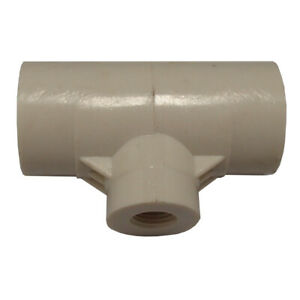 Water Drinker PVC Fitting for Waterer Cups or Nipples for Chicken/Poultry
