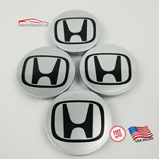 4x Honda Wheel Rims Center Hub Caps Logo 69mm Fast Shipping