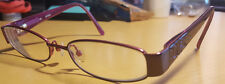 GUESS Purple Designer Eyeglasses Frames Petite Childrens 45 [] 16 130 mm GU9039