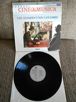 """Las Städte Y Sus Canciones Soundtrack LP vinyl Vinyl 12 """" 1987 VG + London"""