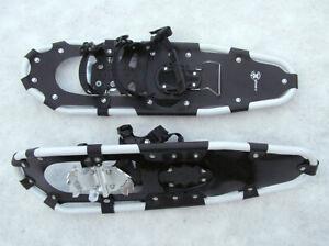 Snowshoes X-morph Deep Powder mk.III, XL white frame, black (max. 250lbs, 113kg)