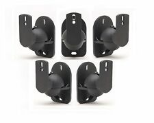 Universal Satellite Cube Speaker Wall Mount Bracket Home Theater ( 5 Pack)