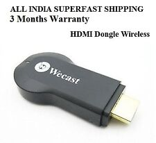 Wecast Miracast/ Any Cast HDMI Dongle Wireless Media Streame Android Mini Pc Tv