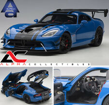 AUTOART 71734 1:18 2017 DODGE VIPER GTS-R COMMEMORATIVE ACR 2017 COMP. BLUE