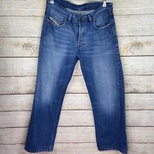 Diesel Mens Size 33x29 Blue Jean Straight Leg