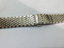 NEW LONGINES GENTS WATCH STRAP, 18MM,STAINLESS STEEL