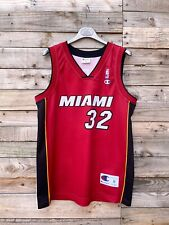 More details for champion miami heat sports jersey o'neal nba basketball vest top medium