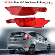 Left & Right Rear Bumper Reflector Light Fog Lamp For Ford Fiesta Mk7 VII 09-14
