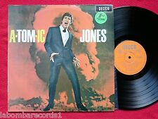 TOM JONES A-Tom-ic Jones LP 1966 Spain 1st PRESS Mono (ex-/ex) O DECCA
