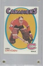 Ken Dryden 1971 Topps Hockey #45 Rookie Montreal Canadiens