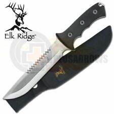 Elk Ridge Full Tang Bowie Knife ER082 STICKER HUNTING,CAMPING