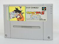 Super Famicom DRAGON BALL Z Saiya Densetsu Cartridge Only Nintendo sfc