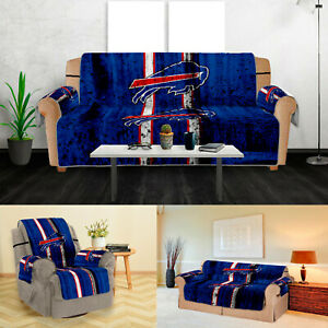 Buffalo Bills Sofa Cover Furniture Slipcovers Protector Strech Couch Chair Cover