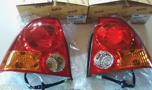 *NEW* TYC ACCENT TAIL LIGHT SET 11-6013-00 / 11-6014-00 FOR '03 - '05 HYUNDAI