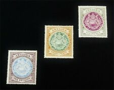 nystamps British Antigua Stamp # 35-37 Mint Og H $43 J15y1900