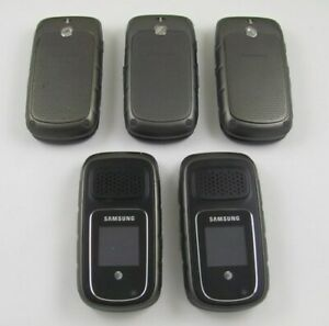 5 Samsung SGH-A997 Rugby III AT&T Cell Phone Lot Ruggedized
