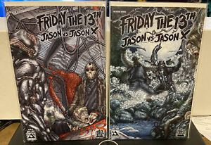 Friday The 13th Jason Vs Jason X #1 And #2 NM Avatar