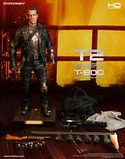 Enterbay Terminator 2 T-800 Batalla Dañado Versión 1/4 Escala HD Maestra Nuevo