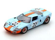 Spark Model 43SE69 Ford GT40 Gulf #22 'Ickx-Oliver' 1st pl 12hrs Sebring 1969