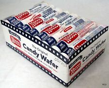 Necco Wafers Candy Box 24 Ct 2.02 oz Rolls Assorted Flavors Bulk Wafer 3 LBS