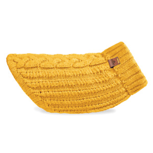 Cable Knit Dog Jumper | Honey