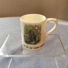 Wedgwood Peter Rabbit miniature tankard bone china ca. 1983