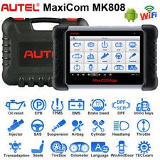 NEW! Autel MaxiCOM MK808 OBD2 EOBD Car Engine Diagnostic Scan Tool Tablet Laptop