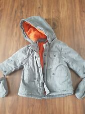 3b178d6371d2f Vertbaudet Baby Boy winter warm 3in1 Parka Coat Jacket 9-12 months VGC
