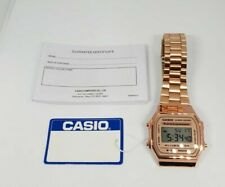 Casio Classic Digital Watch-A168WA-1YES-Rose Gold - 5 Years Warranty